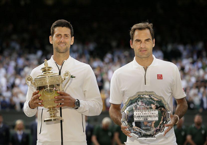Novak Đoković, Rodžer Federer, Vimbldon finale