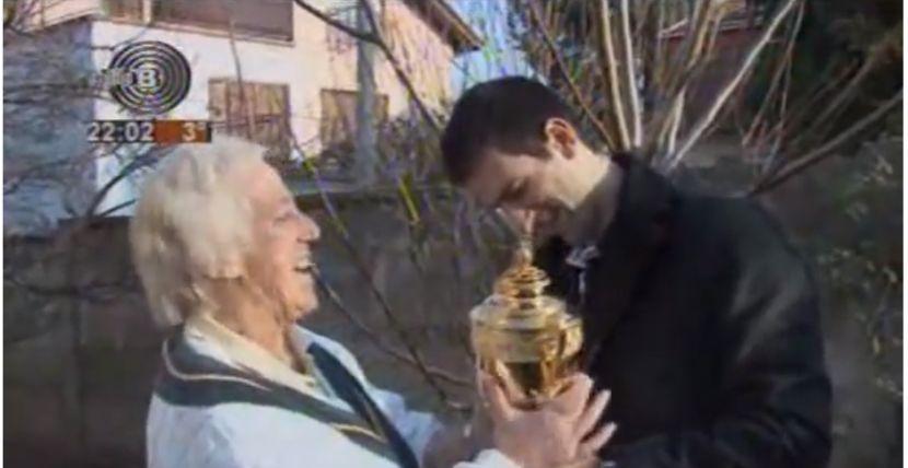 Novak Đoković i Jelena Genčić