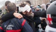"""Bizaran podatak: U protestima """"Žutih prsluka"""" čak 24 demonstranta ostala bez oka"""