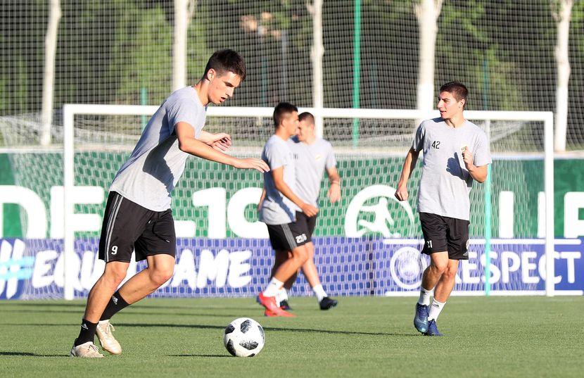 FK Čukarički trening