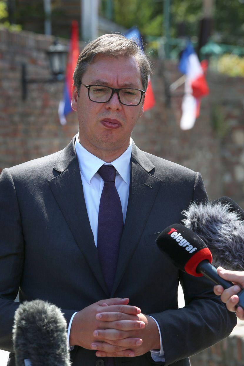 Izjava Vučića posle sastanka sa Makronom i studentima