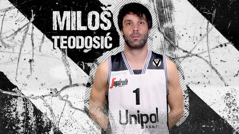 Miloš Teodosić, Virtus Bolonja