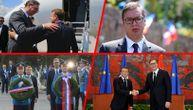 Srpski migovi ispratili Makronov avion iz Srbije: Završena poseta predsednika Francuske (FOTO)