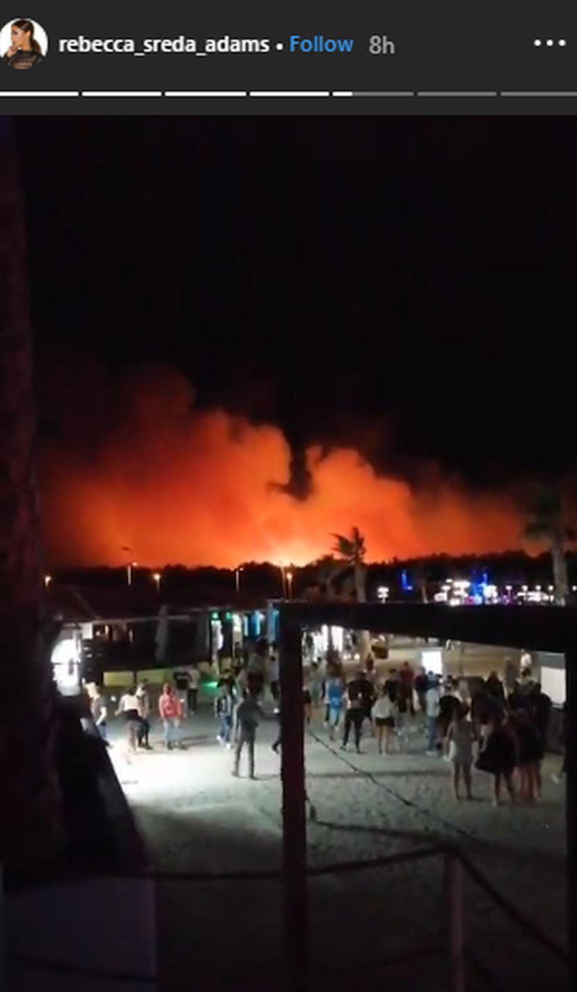 Rebeka Popović požar