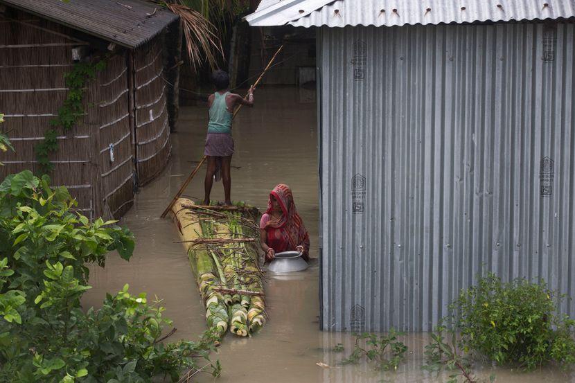 Indija, poplave