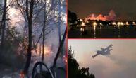 Dramatično i dalje u Hrvatskoj: Vatra stigla do ugostiteljskih objekata, izgorelo 5 hektara šume