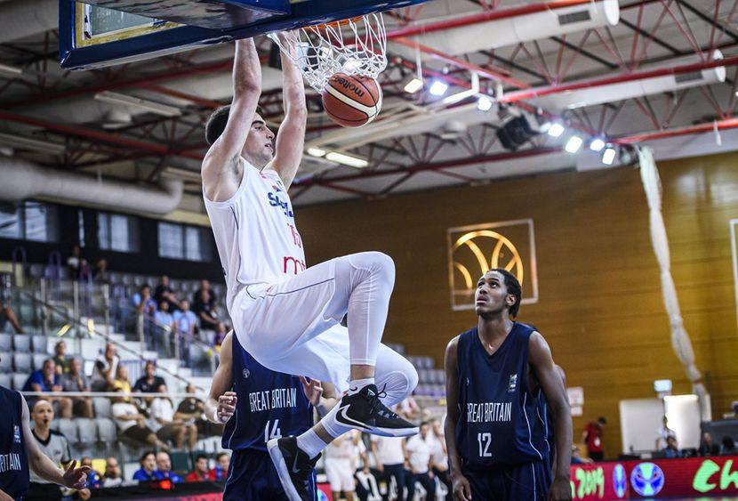 Marko pecarski - Mlada košarkaška reprezentacija Srbije do 20 godina 2019.