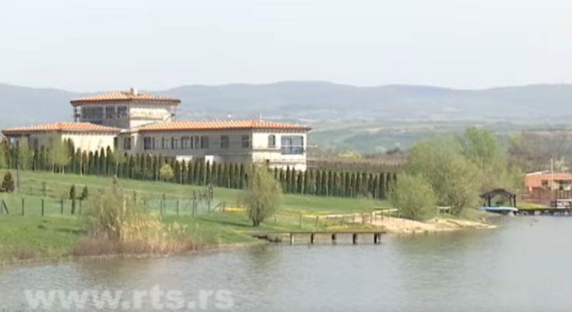 Novak Đoković vila, pavlovačko jezero