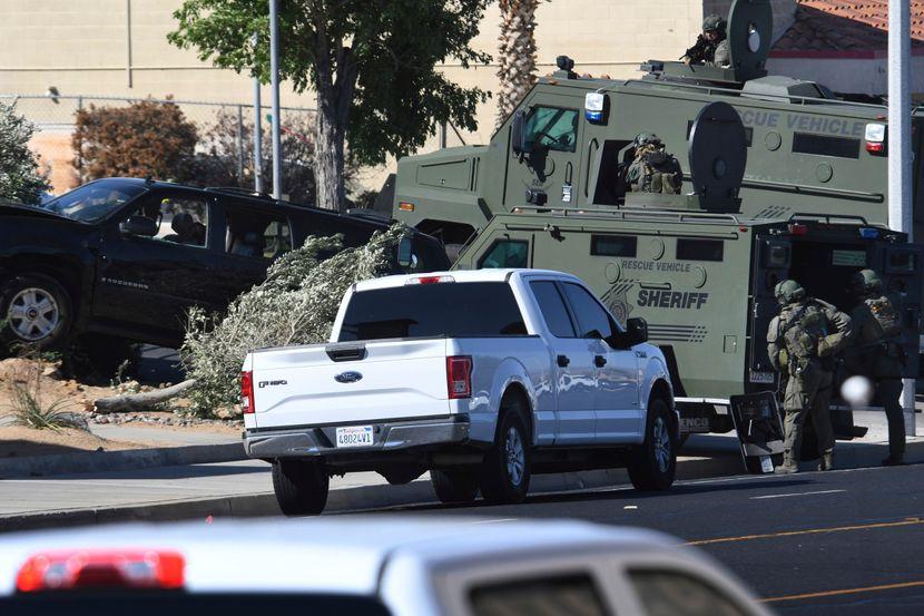Pucnjava, policija, Kalifornija