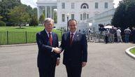 SAD će učiniti sve da odblokiraju dijalog, znaju da je problem u Prištini: Dačić sa Džonom Boltonom