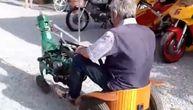 Deka Proka pronalazač zaprepastio meštane, jezdio u ovakvom vozilu po gradu (VIDEO)