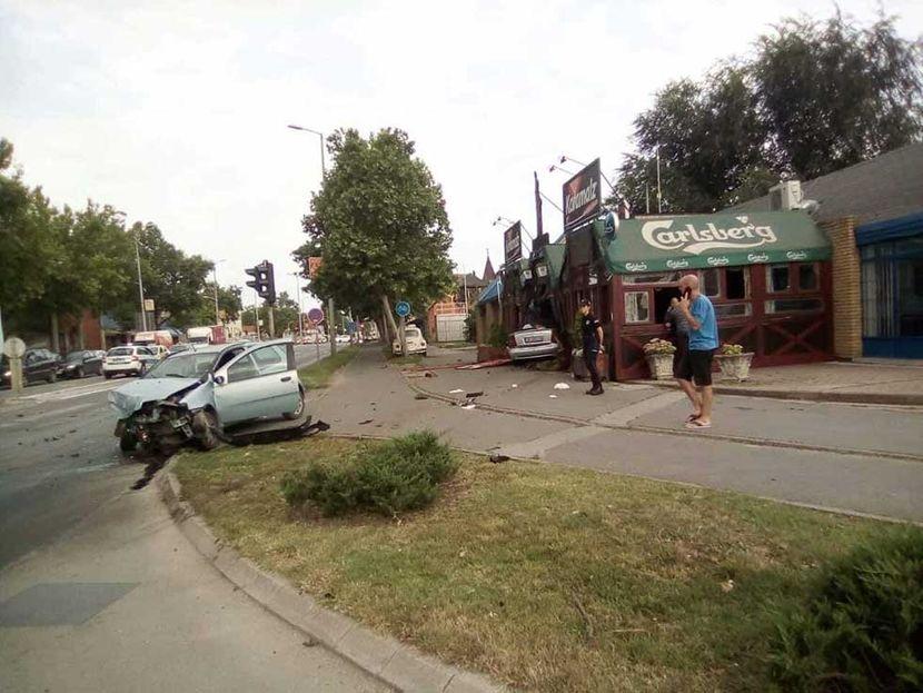 Saobraćajna nesreća u Zrenjaninu