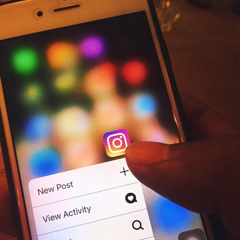 Instagram, Telefon