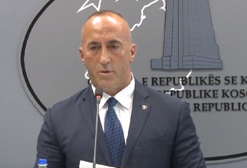 Ramuš Haradinaj, ostavka