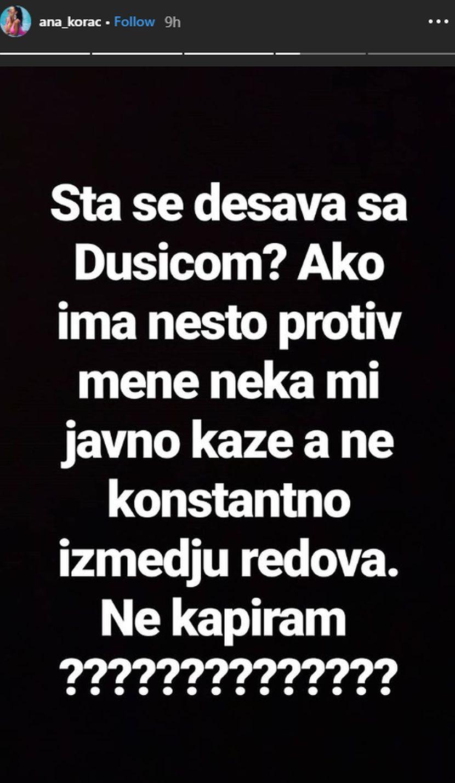 Ana Korać, Dušica Jakovljević