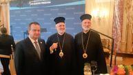Episkop Irinej i arhiepiskop Elpidoporos posle Trampa i Pompea razgovarali sa Dačićem (FOTO)