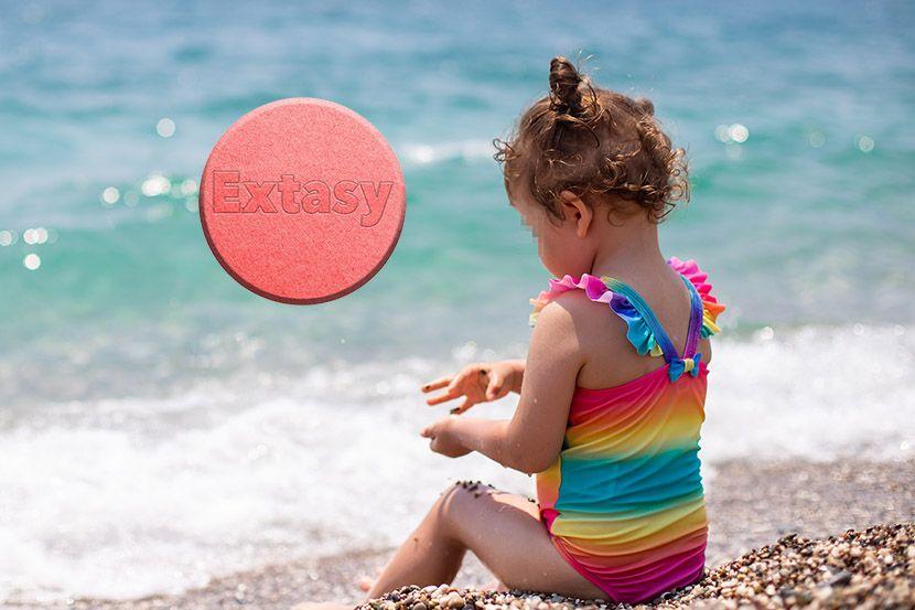 Dete, ekstazi pilula