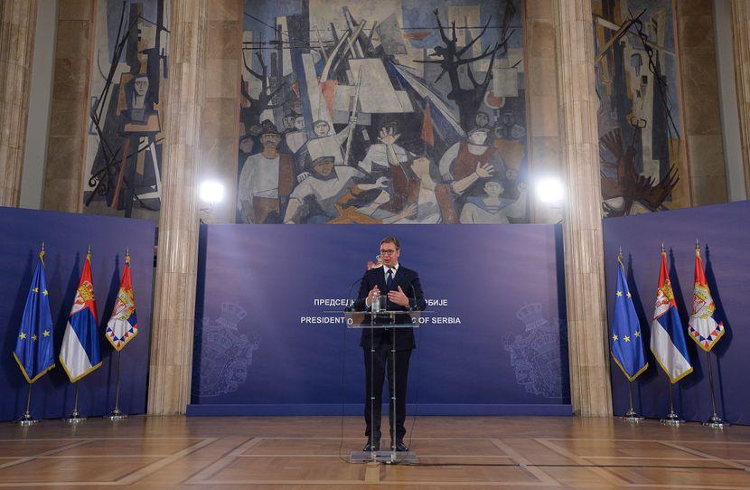 Aleksandar Vučić, Ramuš Haradinaj