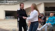 Ovako izgleda kada Bogoljub Karić obiđe radove: Muzika, ples i radost (VIDEO)