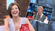 Dea pitala Kiju da li je Sloba zadovoljan njenim novim hitom, Kristina se nasmejala i odgovorila