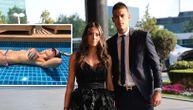 Seksi Mirka grmi u bikiniju: Vujadin se pohvalio brutalnom fotkom sa bazena! (FOTO)
