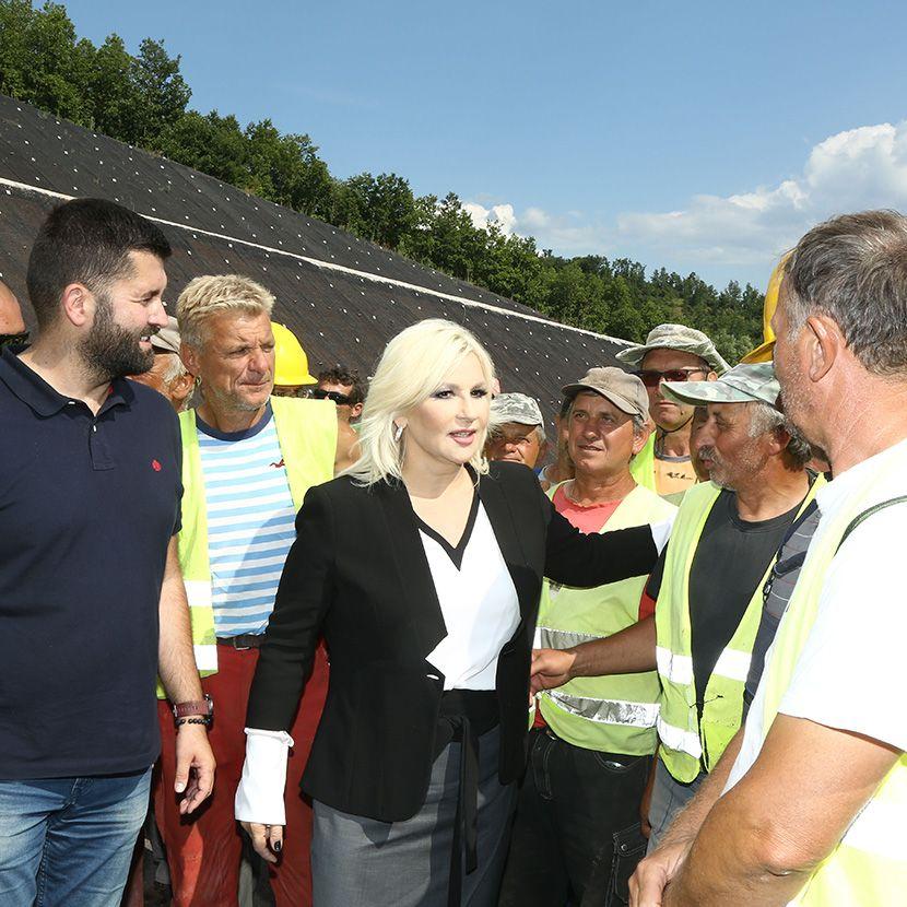 Zorana Mihajlović, tunel Bancarevo