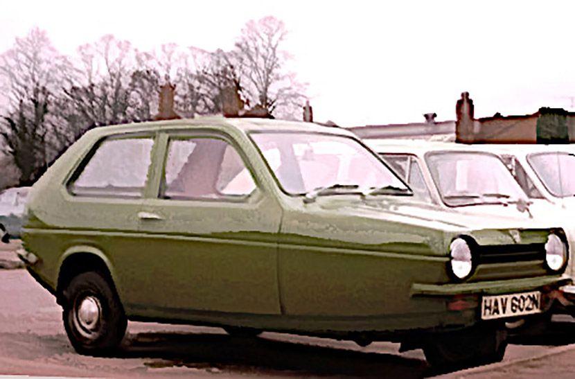 Automobili , Reliant Robin