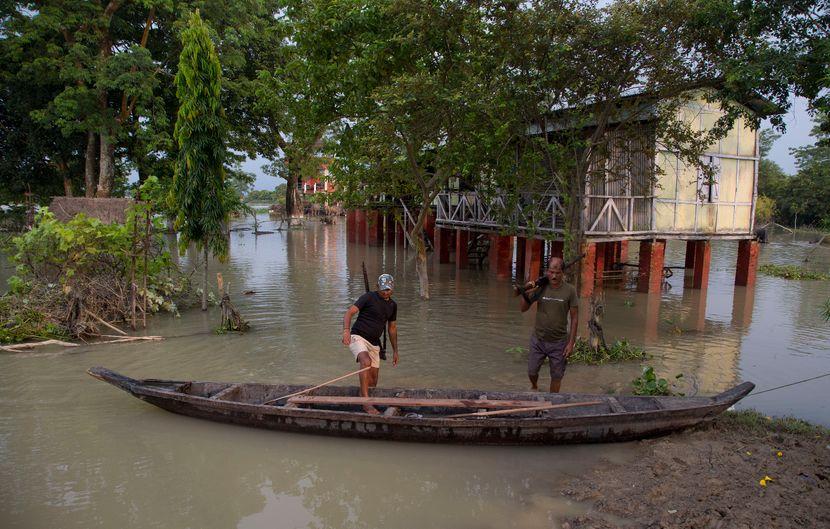 Poplave, Indija