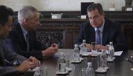Razgovor o pitanju KiM i bilateralnim odnosima: Dačić primio u posetu ambasadora Harčenka