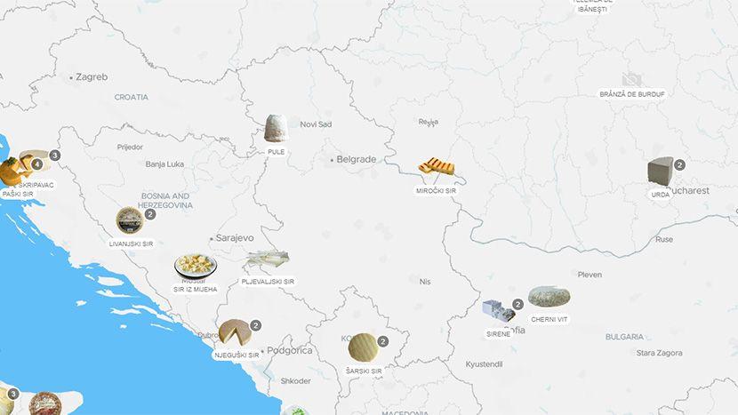 Mapa sireva
