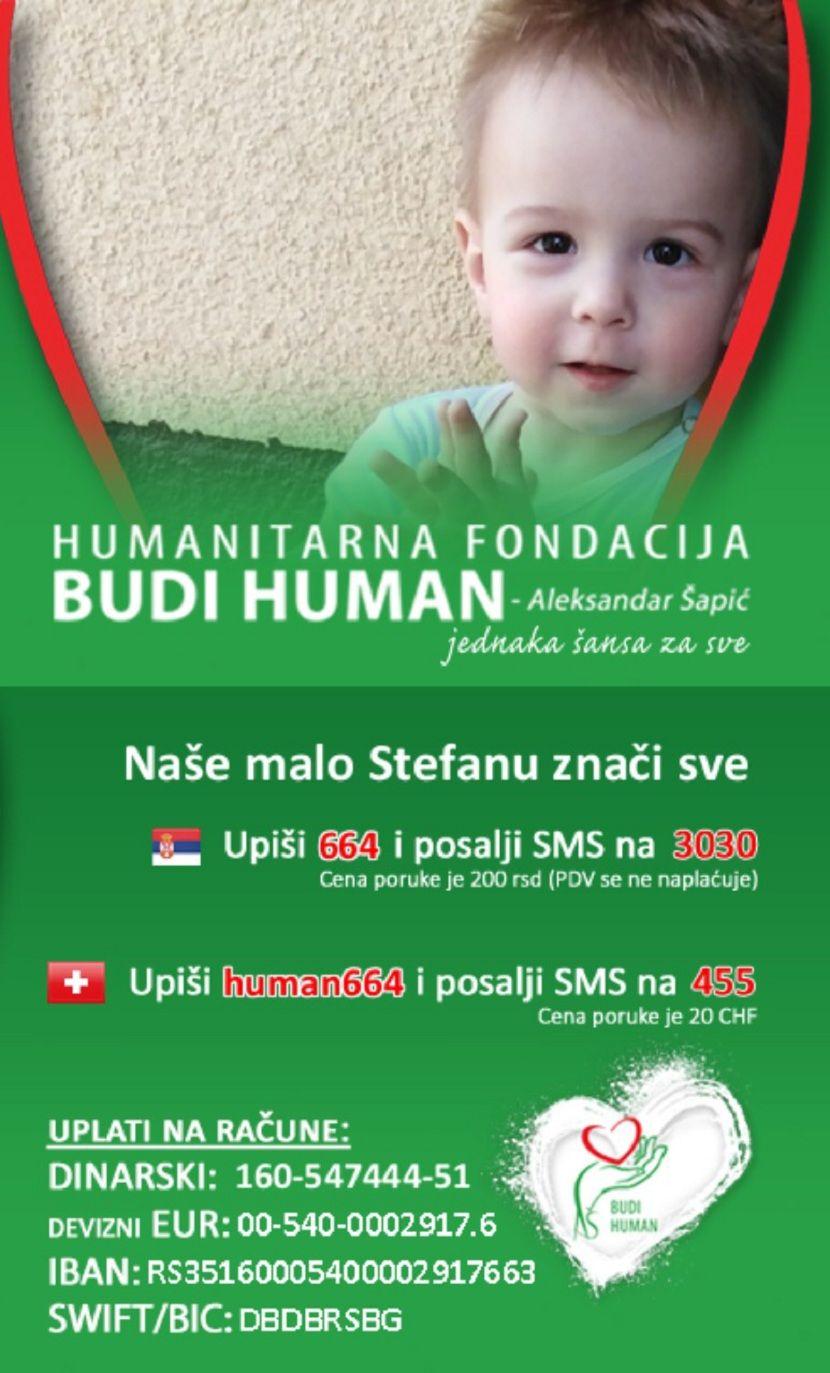 Stefan Gončin, budi human