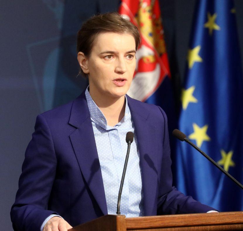 Ana Brnabić, Johanes Han