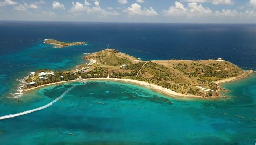 Little St. James in the U.S. Virgin Islands, pedofilsko ostvro Epstein, Dzefri epstajn