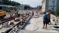 Vesić obišao radove na rekonstrukciji Karađorđeve ulice i pohvalio radnike