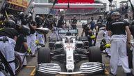 Hamilton proveo pun minut u boksu: Mercedesov tim se pogubio kad mu je video formulu! (VIDEO)