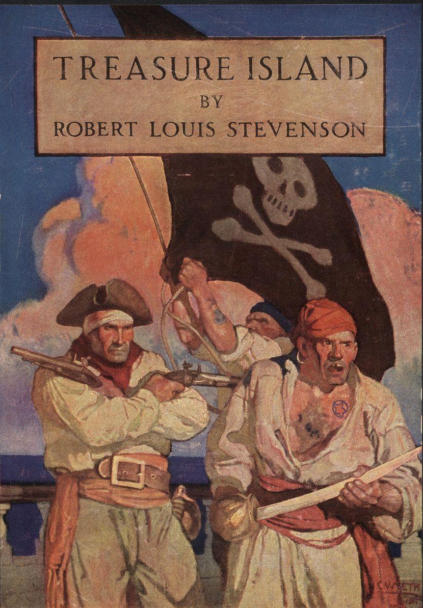 Robert Luis Stivenson, Ostrvo s blagom