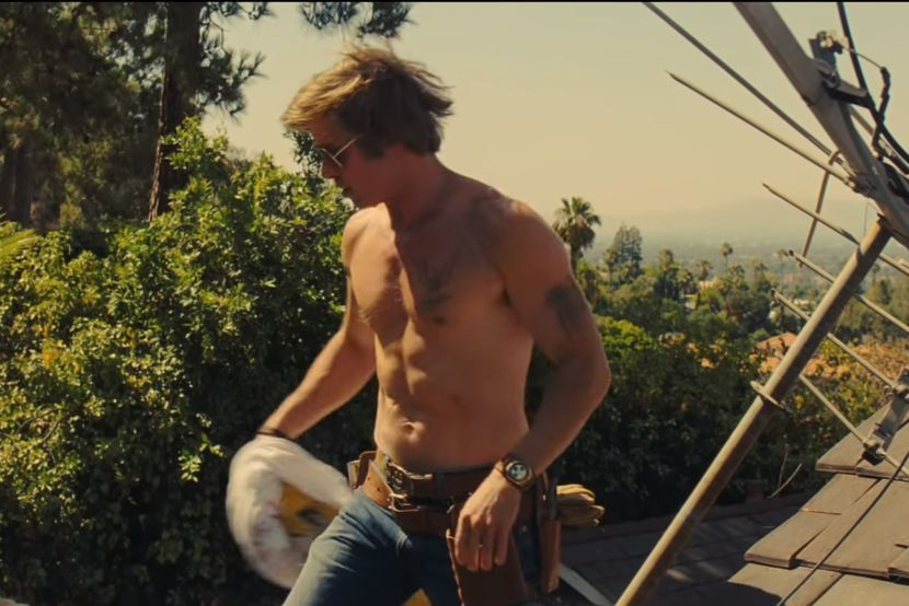 Bred Pit, film Once Upon A Time in Hollywood