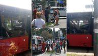 Haos i neverica na Dedinju nakon eksplozije: Beba pored uništenog autobusa, krv i srča (FOTO, VIDEO)