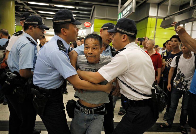Hongkong blokada metroa