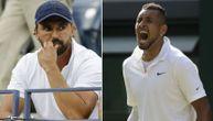 Pale teške reči između Ivaniševića i Kirjosa: Ludi Australijanac nastavlja da proziva sve oko Novaka