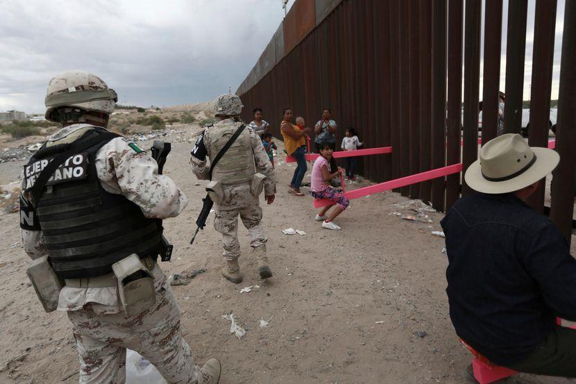 Klackalica, americko meksicka granica