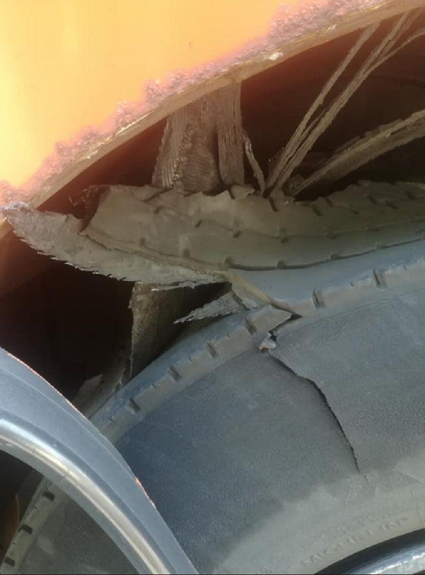 eksplozija gume na autobusu u Rijeci