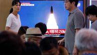 Severna Koreja ponovo ispalila projektile: Reagovale SAD, prate situaciju (FOTO)