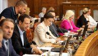 Brnabić na sednici Vlade Srbije sa ministrima: Usvojen Predlog zakona o agencijskom zapošljavanju