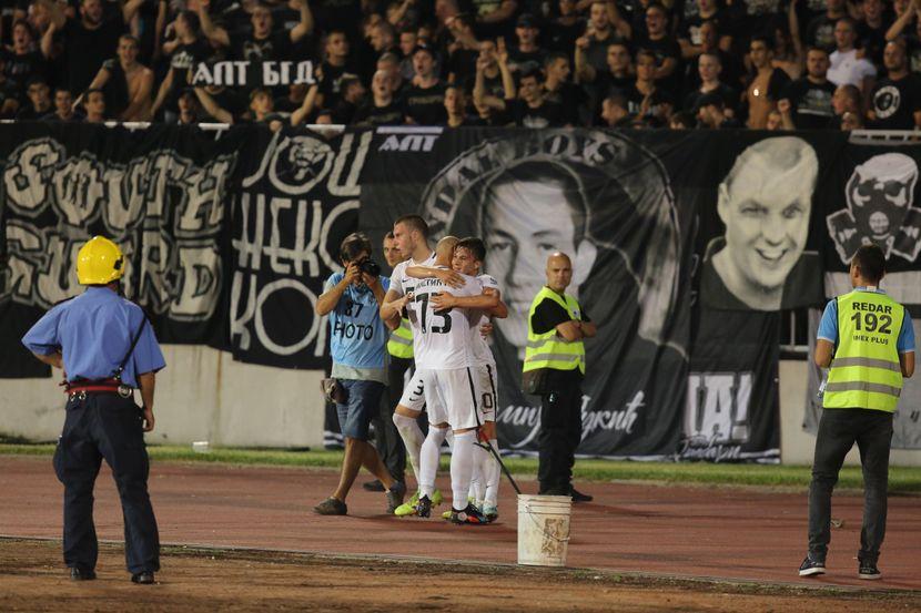 Pogodci Golovi Partizana
