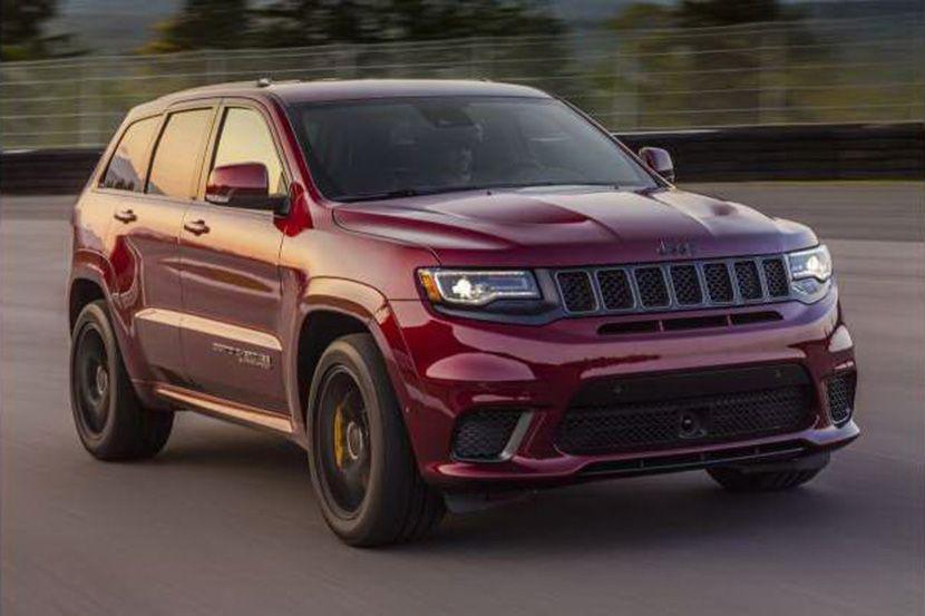 Najbrži SUV-ovi Jeep Grand Cherokee Trackhawk