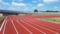 Završena atletska staza na stadionu ''Ivana Španović'' (FOTO)
