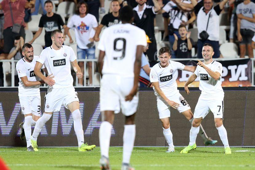 FK Partizan - FK Konas Ki