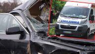 Druga saobraćajka kod Bora: Izašao iz svadbarske kolone pa se sudario s pežoom, povređeno petoro