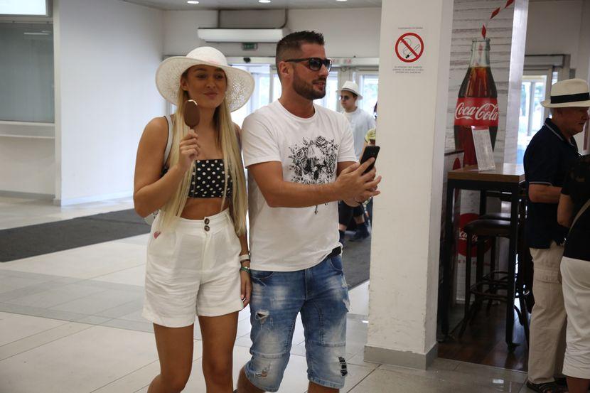 Luna Đogani i Marko Miljković, aerodrom